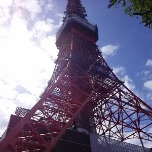 東京タワーに、秋の味覚を求めて♬