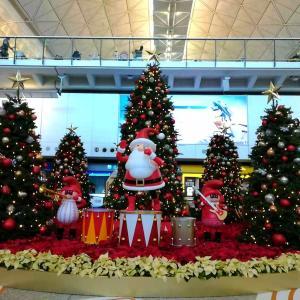 香港でクリスマスを感じた