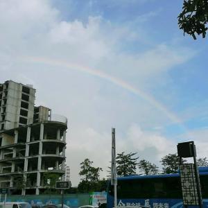 虹に願いを…☆