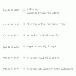 【スマホ】AliExpressで注文した「UMIDIGI A7S」が日本に到着、通関手続き中(Clearing Customs)