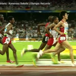 ケニア人は胸も前傾して走る