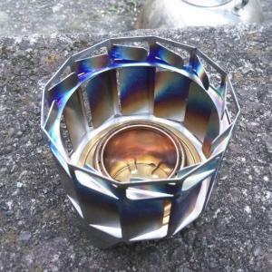 アルコールバーナー用燃焼促進器