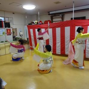 慰問・日本舞踊 ~日本舞踊は優雅なイメージとは裏腹に稽古は半端なくキツイ!~