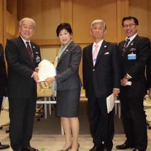 東京都知事に要望書を提出 ~介護職員が、夢と希望を持って働き続けられる職場にするために~