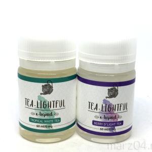 Tea-Lightful Berry D'Light Tea / Tropical White Tea レビュー|これがアメリカ発!?上品な紅茶リキッド