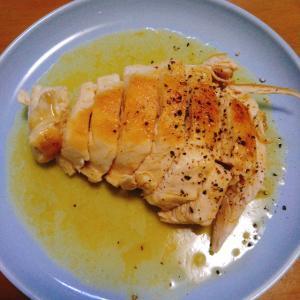 リュウジさんの鶏肉ステーキレモンバターソースを作ってみた