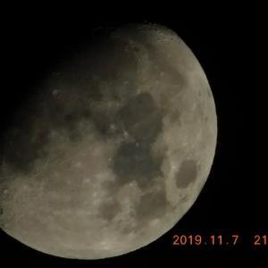今宵の月、再び!