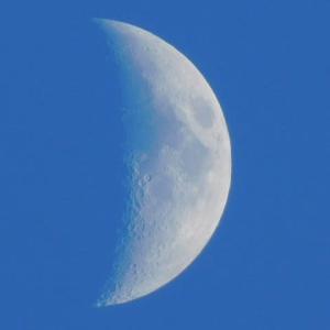 月が綺麗ですね!