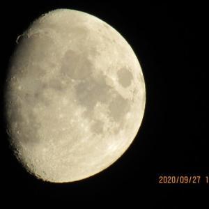 久し振りの月見です!