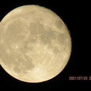 満月の翌日