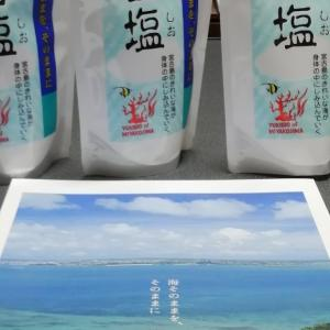 2020年 株主優待 7月 日本管財 (其の二) 早いもう来た! 宮古島の雪塩