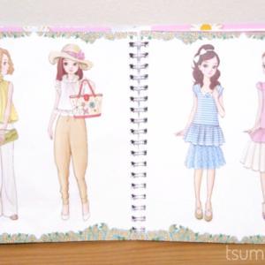 おしゃまな女の子に贈りたい!貼って剥がせるシールブック「おしゃれノート」が可愛くておすすめ