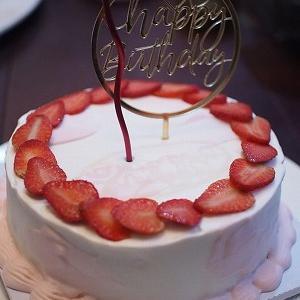 娘の誕生日ケーキ♡