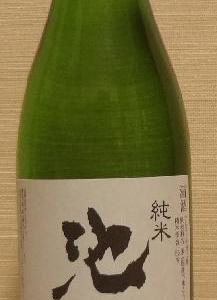 池月 純米(30BY) 鳥屋酒造