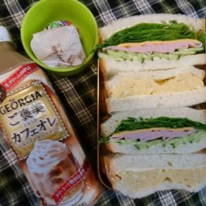 サンドイッチ弁当とふるさと納税