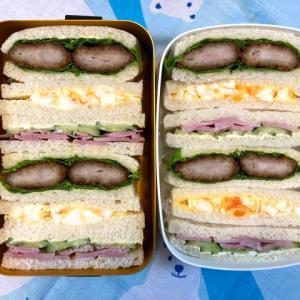 サンドイッチ弁当