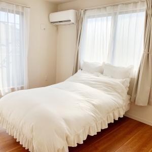 色々無いけれど快適な寝室