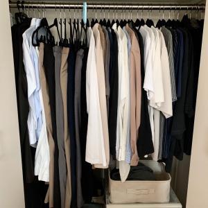 衣替え無しのクローゼットでも 衣替えします