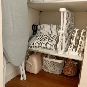 洗濯ハンガー類の収納場所 決める時に考えた事