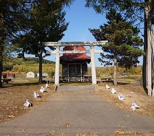 ☆笹山稲荷神社(蘭越町)☆