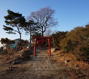 軽舞稲荷神社(厚真町)