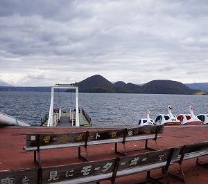 観音堂(洞爺湖の観音島)