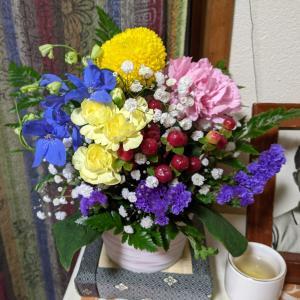 デイサービス生花の日
