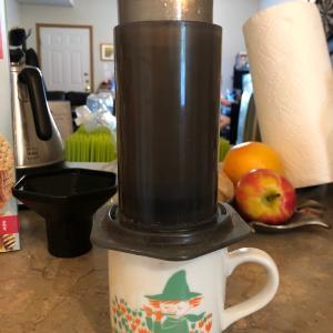 コーヒー牛乳でちょっとした幸せ