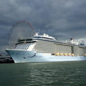 大阪港にQuantum of the Seasが入港していました
