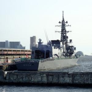 大阪港に護衛艦むらさめが入港していました