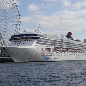 大阪港にスーパースターヴァーゴが入港していました