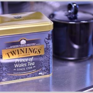 紅茶も飲みます。