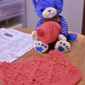 熟成した編み物