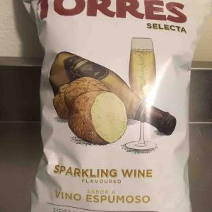スパークリングワイン風味のポテチ
