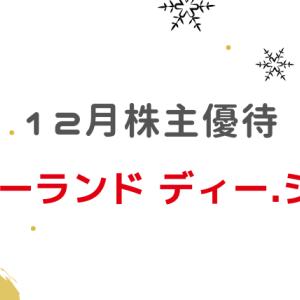 【12月株主優待】(6789)ローランド ディー.ジー.買いました。