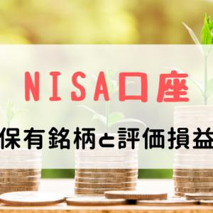 【2019年10月版】NISA口座の保有銘柄と評価損益をチェック!