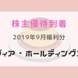 【株主優待到着】(7918)ヴィアHDのお食事券:2019年9月権利分