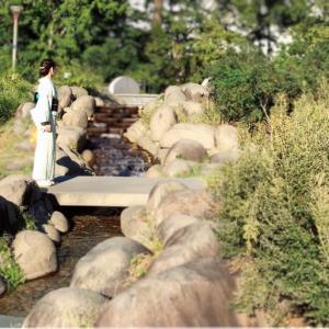 【着物で楽しむ散策】靭公園