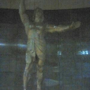 板橋の『平和祈念像』。