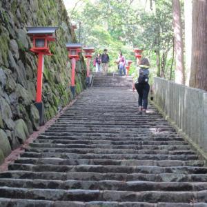 【友やめ】よく歩く旅程、それも長い石段のあるお寺も参拝するって決めてたのにヒールサンダルで来た友人wwwwww