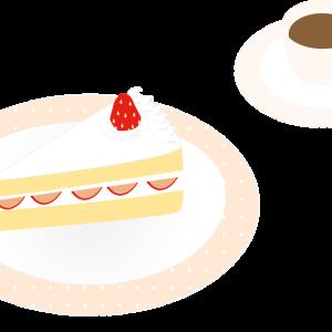 レストランでコースを注文。飲み物(コーヒーか紅茶)付き、デザートなし。食後にコーヒーをお願いするついでにケーキを頼んだら…