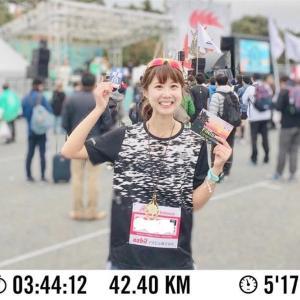 湘南国際マラソンのきろく