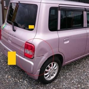 車のキズヘコミ修理(アルトラパン)