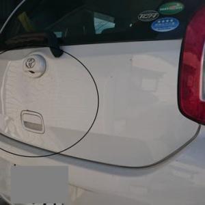 車の修理(トヨタ パッソ)