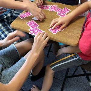 【小学生クラス】ブレイクタイムも英語でゲーム