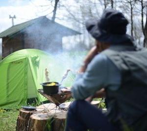 (CM)「男の隠れ家?」キャンプサイト開設しました ~期間限定 わんだぁキャンプ場 ご予約受付中!~