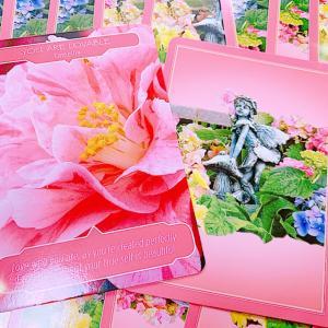 お花のカードから*