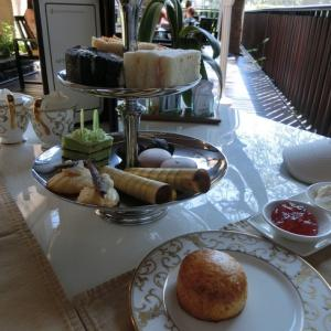 ★11年ぶりのバリ島へ@インターコンチネンタル・バリのクラブラウンジのアフタヌーンティー&朝食♪
