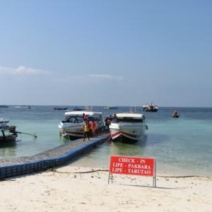 ★マレーシア~タイへ@リペ島で2つのアクシデント!!~再びリッツカールトン・ランカウイへ♪