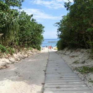 沖縄・石垣島へ@ANAインターコンチネンタル石垣前のマエサトビーチ&ベイウィングのプール♪